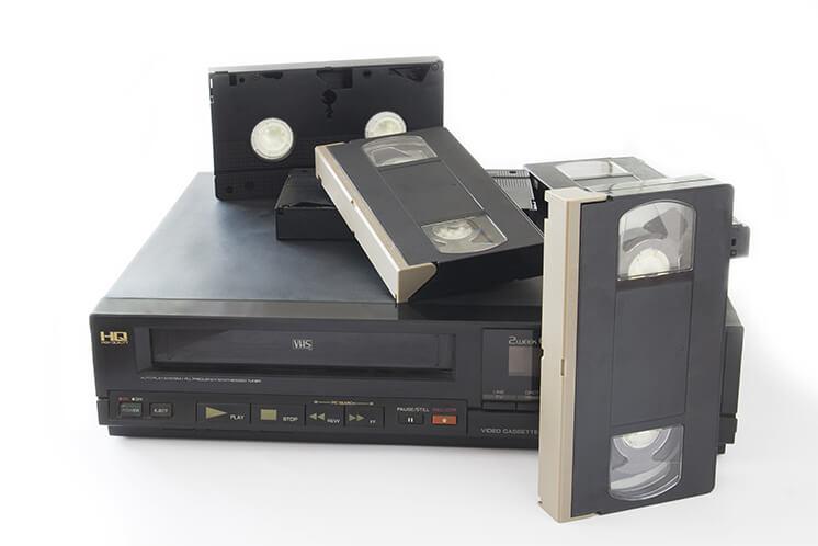 VHS tape transfer